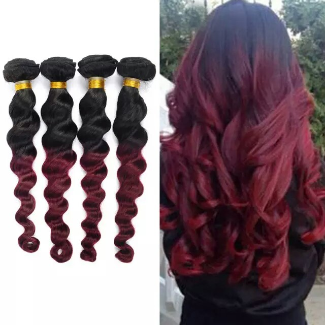 Beautiful Textures And Colors For Hair Weave Extensions Wholesale