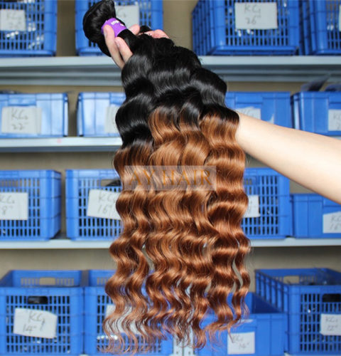 Ay hair wholesale extensions deep wave ombre 2 tone 1b30 virgin ay hair wholesale extensions deep wave ombre 2 tone 1b30 virgin human hair weft bundle wholesale hair weave factory pmusecretfo Gallery