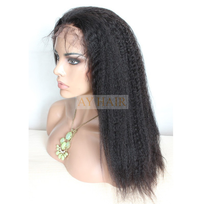 Full Lace wig Kinky straight 02