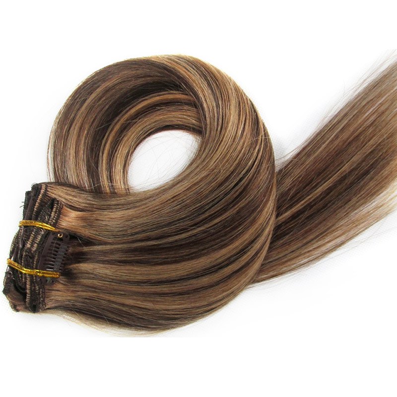 Wholesales Clip In Hair Extensions Mixed Color 427 Clip On
