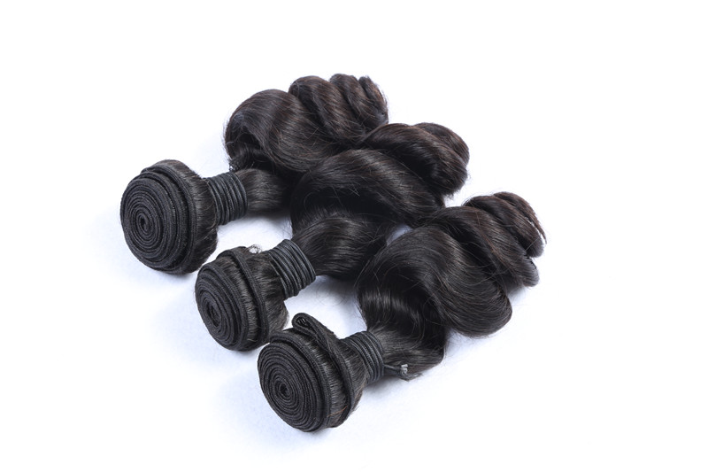 Indian Wholesale Top Quality Double Wefted Virgin Human Hair Weaves