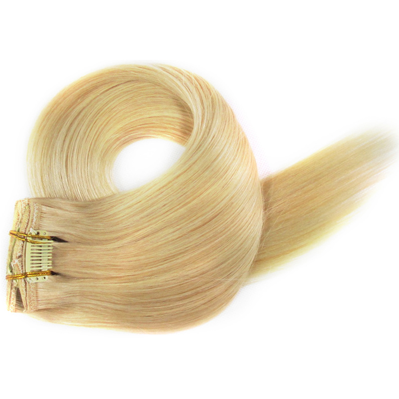 Buy Bulk Order 100 Human Hair Clip In Extensions Straight Hair