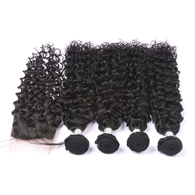 Best Sell 100 Virgin Human Curly Hair Weaves With Natural Color