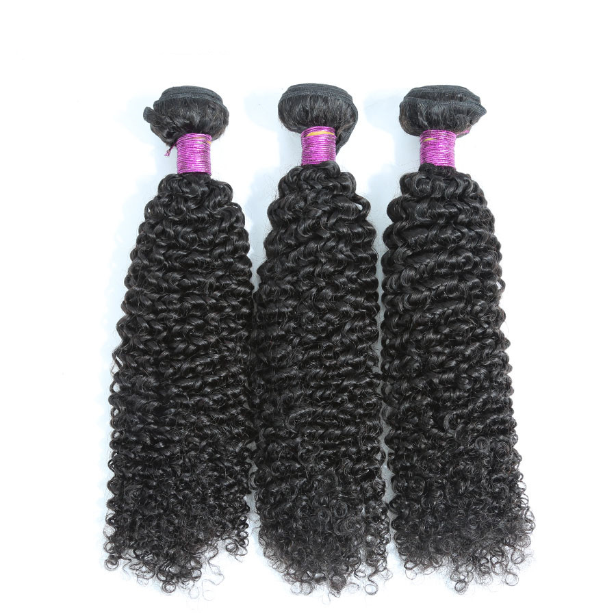 China Hair Extension Vendor Beautiful Bundle Weaves Kinky Curl