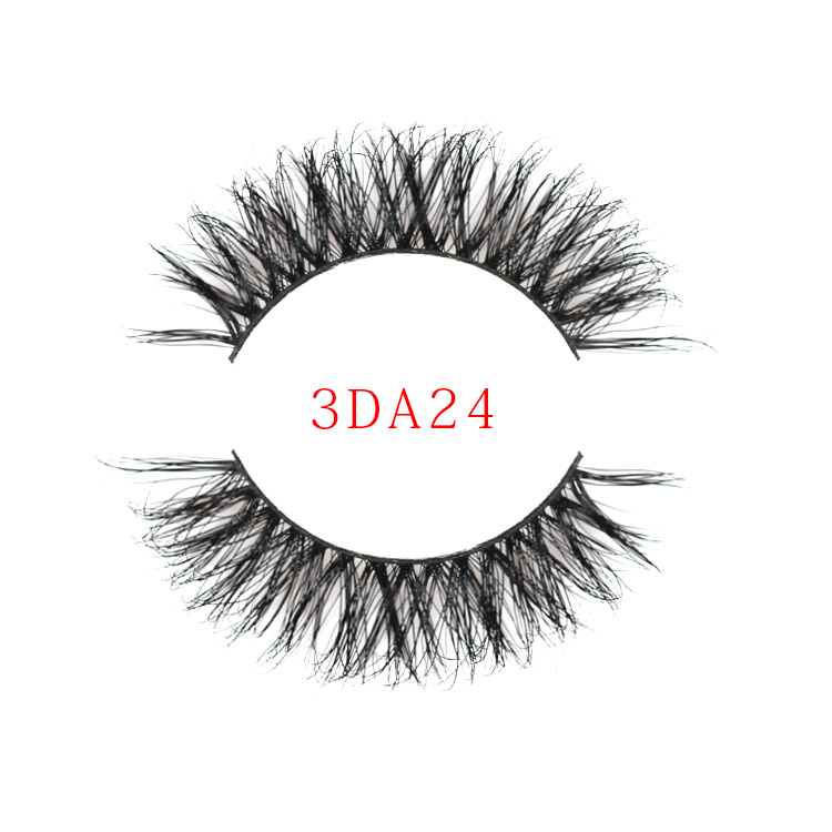 011c7164ae4 Name: 3D Mink Eyelash Type: Hand Made Lash Material: 100% Real Mink Fur  Model Number: 3DA24 Color: Natural Black Style: Natural Long Package: 1  pair/ box