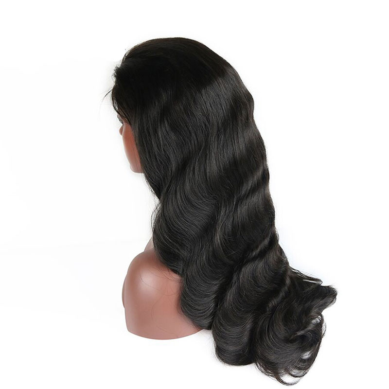 Large stock virgin human hair different density body wave lace front wig -  Wholesale Hair Weave Factory